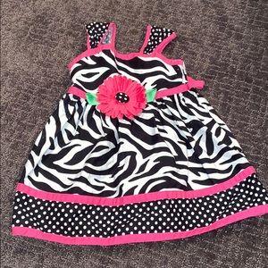 18 month zebra dress